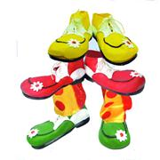 Chaussures de Clown ad. Latex