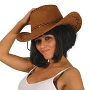 Chapeau Cowboys Buffalo Marron