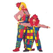 Déguisement Clown : salopette Mondriaan