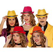 Borsalino Ruban or couleurs assorties