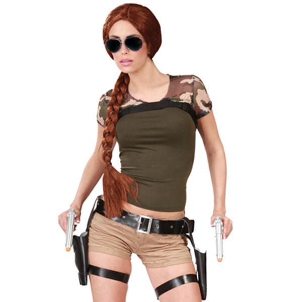 La bamboula d guisements costumes accessoires de f te farce et attrape d guisement - Tomb raider deguisement ...