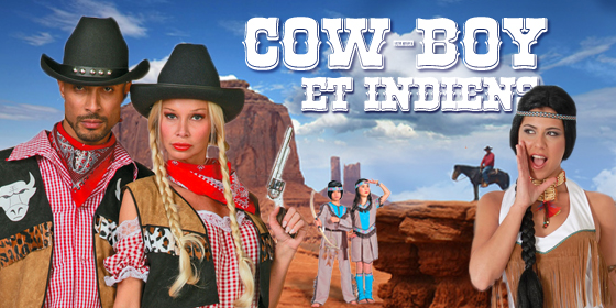 Cow boy et indiens